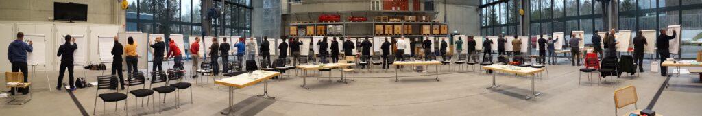 Der Flipchart-Coach bei der Feuerwehr Bern