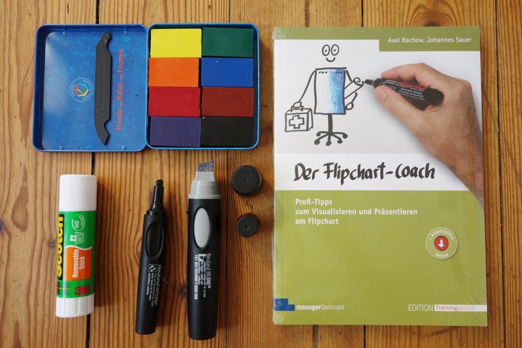 Das Flipchart-Coach Set beim Schilling Verlag - Das Materialset zum arbeiten am Flipchart